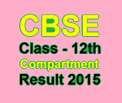 CBSE compartment result