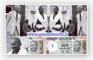 Gandhi on Indian Rupees notes